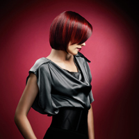 The Color Red Paul Mitchell Model 2
